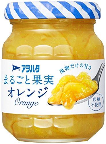 アヲハタ 砂糖不使用 125g まるごと果実 オレンジ