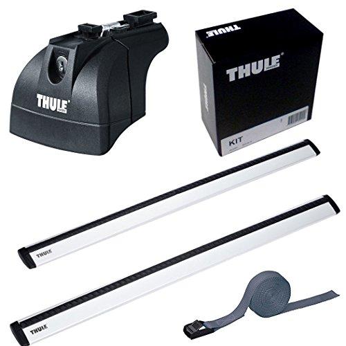 THULE スーリー ベースキャリアセット 753+961+4001 アウディ A6アバント ダイレクトルーフレール付 2012-  [Z70マルチベルト] 753+961+4001+Z70