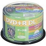 HI-DISC データ用DVD+R HDD+R85HP50 (DL 8倍速 50枚 )