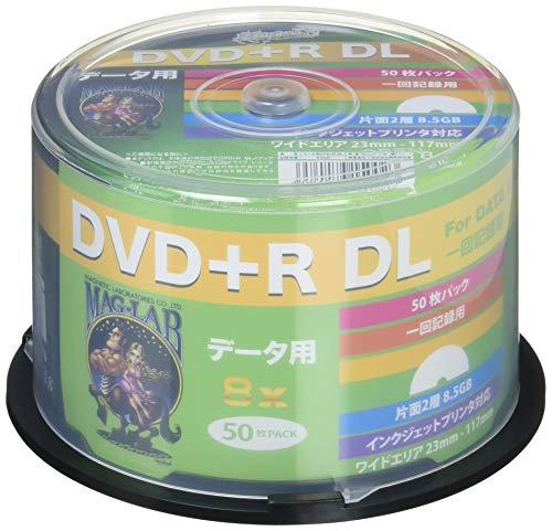 『HI-DISC データ用DVD+R HDD+R85HP50 (DL/8倍速/50枚 )』のトップ画像