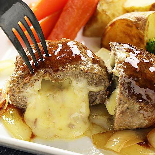 チーズ in ハンバーグステーキ 150g×2個 グラスフェッドビーフ使用CHEESE STUFFED GRASS FED BEEF HAMBURG STEAK 150G?2