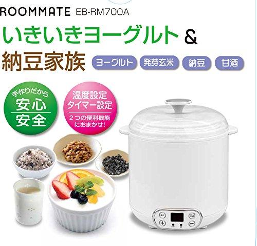 ROOMMATE いきいきヨーグルト&納豆家族 EB-RM700A EB-RM700A