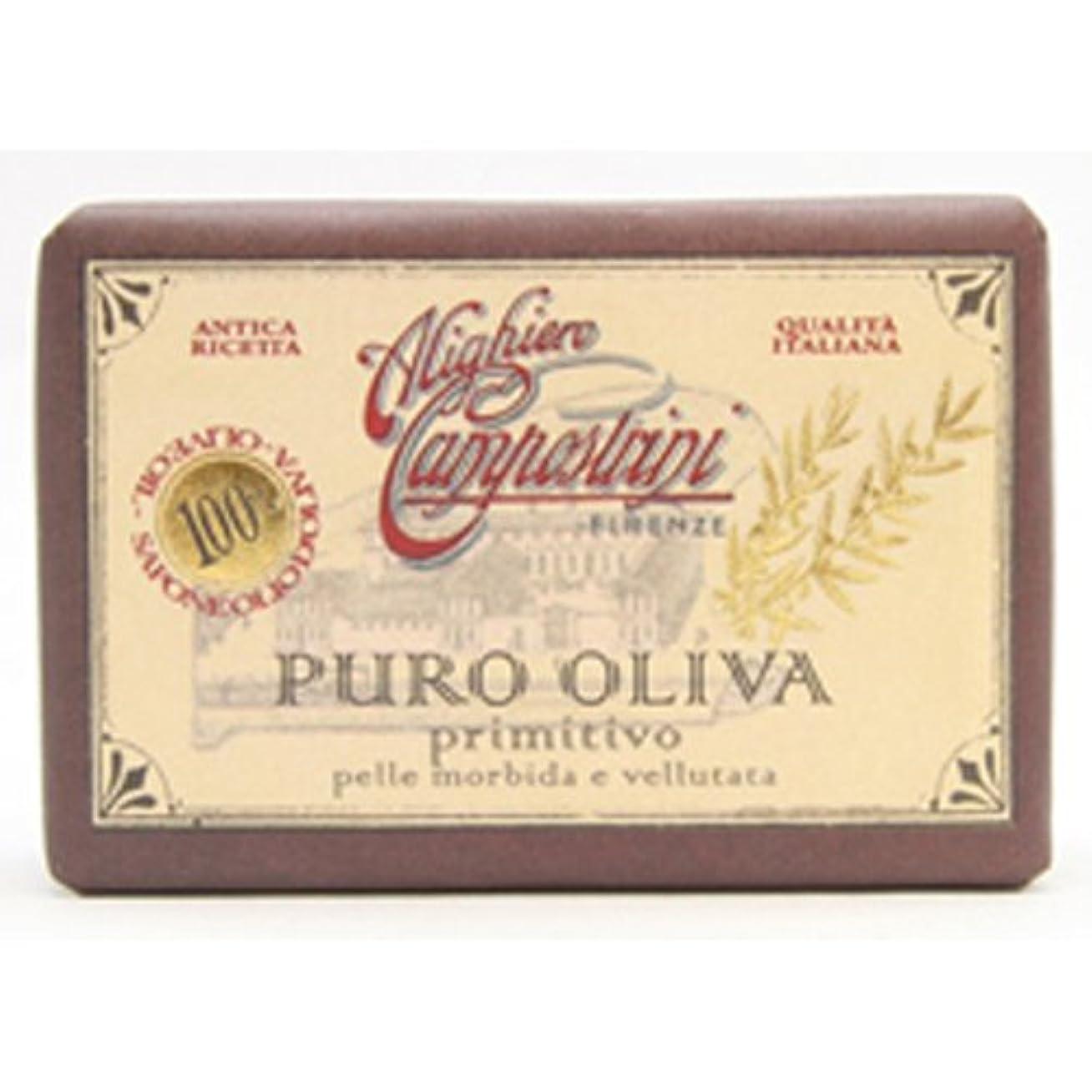 四半期東方証明書Saponerire Fissi サポネリーフィッシー PURO OLIVA Soap オリーブオイル ピュロ ソープ primitivo オリジナル 150g
