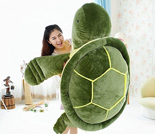 ぬいぐるみ 亀 カメ/かめ 特大 140cm カメ 大きいサイズ動物ぬいぐるみ 巨大 可愛いくま抱き枕 子供のプレゼント ふわふわな手触りがたまらないぬいぐるみ