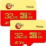2個セット microSDカード microSDHCカード 32GB JNH 超高速Class10 UHS-I U1 V10 アプリ最適化A1対応 【国内正規品 5年保証】