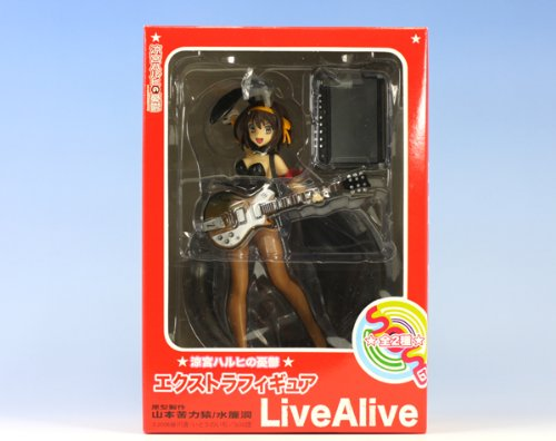스즈미야 하루히의 우울 엑스트라 피규어 Live Alive 2009ver.스즈미야 하루히-스즈미야 하루히 Live Alive 2009ver.