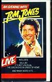 TOM JONES: LIVE IN LAS VEGAS (VHS)