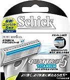 シック Schick クアトロ5 5枚刃 チタニウム 替刃 (4コ入)