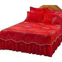 豪華な丈夫なベッドカバー、多色ベッドカバー、#12をカバー