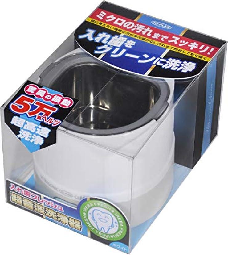 代替案オアシスご注意TO-PLAN(トプラン) 超音波入れ歯洗浄器 TKSM-008(W)