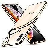 ESR iPhone Xs Max対応 スマホケース(メッキ・ゴールド)