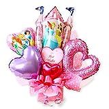 バルーンアレンジ ディズニー プリンセス バルーン アレンジ お誕生日 プレゼント 結婚祝い 出産祝いに