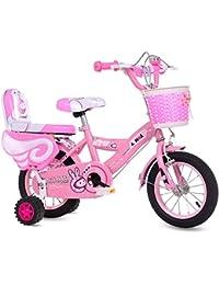 CHS@ 子供用自転車3-6-9歳の男の子と女の子12/14/16/18インチベビーキャリッジキッズバイクピック 子ども用自転車 (サイズ さいず : 14