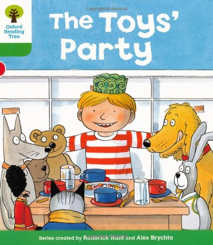 Oxford Reading Tree: Level 2: Stories: The Toys' Partyの詳細を見る