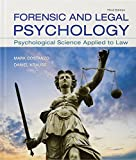 Cover of Forensic and Legal Psychology: Psychological Science Applied to Law