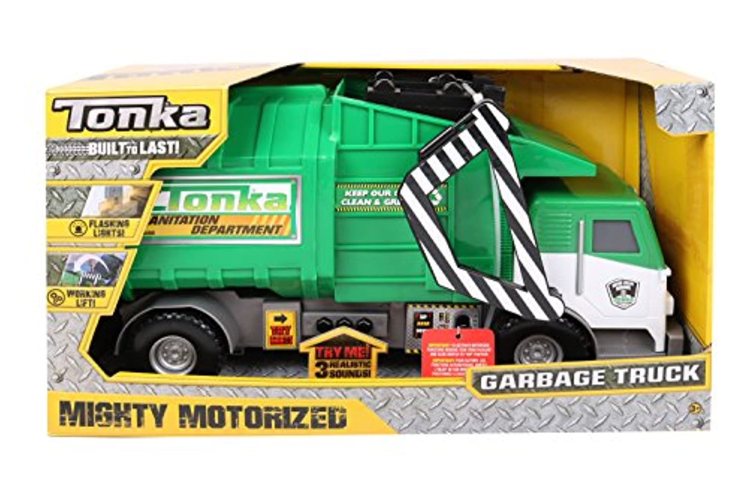 [トンカ]Tonka Mighty Motorized Garbage Truck 06744 [並行輸入品]