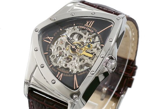 [コグ] COGU 腕時計 自動巻き スケルトン BS00T-BRG メンズ [国内正規品]