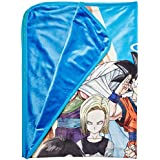 Great Eastern GE-57786 Dragon Ball Z Group in Lawn Sublimation Blanket
