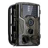 狩猟カメラ12MP 1080P 120°広角HD防水2.0'LCD野生動物の監視、ホームセキュリティir熱カメラのcamoに適して