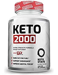 KETO 2000 ケトジェニック 2000 ダイエット 燃焼系 サプリ 90粒 by Sprout Naturals [海外直送品]