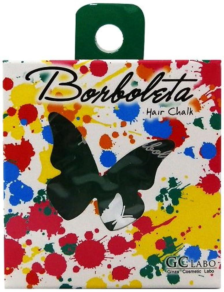 集まる文字一過性BorBoLeta(ボルボレッタ)ヘアカラーチョーク グリーン