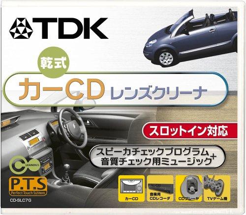 TDK カーCD乾式レンズクリーナ [CD-SLC7G]...