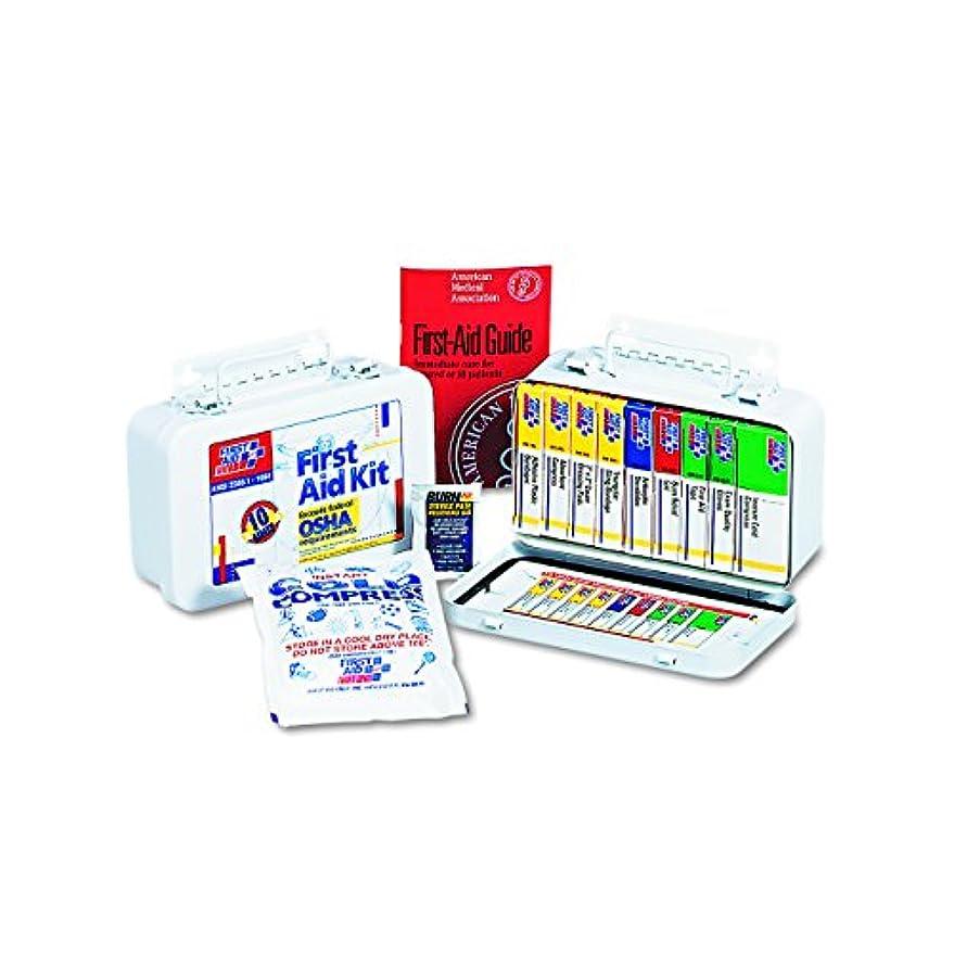 高揚したロバ注目すべきUnitized First Aid Kit for 10 People, 46 Pieces, OSHA/ANSI, Plastic Case (並行輸入品)