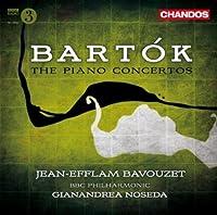 Bartok: Piano Concertos 1-3 (Piano Concertos Nos. 1, 2 and 3) by Bavouzet (2010-09-28)
