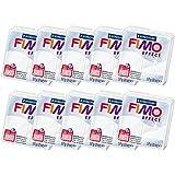 【まとめ売り10個セット】ステッドラー 【オーブン粘土】 FIMO(フィモ) フィモエフェクト 8020-014(半透明ホワイト) ★10個セット