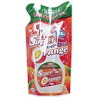 【セット品】スーパーオレンジ 消臭・除菌 泡タイプ 詰替用 360ml (5個)