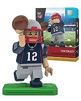 NFL New England Patriots Gen4 Limited Edition Tom Brady Mini Figure, Small, White