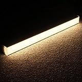 LEDGO Linearモジュラー型LED照明システムby LAGUTE–Hanging &壁掛け式2ft LEDライトチューブ、理想的なホーム、オフィス–20W energy-efficient DIYライト器具W/デイライト3500Kウォームホワイト色