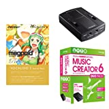 MUSIC CREATOR 6 DUO PACK + VOCALOID3 スターターパック Megpoid Power アニソンDTM入門セット