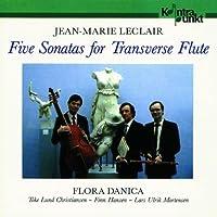 Leclair: 5 Sonatas For Flute