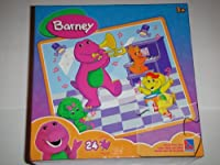 Barnie and Friends on a Stage 24 Piece Puzzle