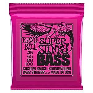【正規品】 ERNIE BALL ベース弦 スーパー (45-100) 2834 Super Slinky Bass