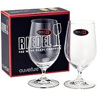 リーデル RIEDEL グラス ビアグラス OUVERTURE(オヴァチュア) ビアー ペア 6408/11 [並行輸入品]
