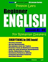 Preston Lee's Beginner English Lesson 41 - 60 for Romanian Speakers