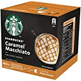 Starbucks Caramel Macchiato by NESCAFÉ Dolce Gusto Coffee Pods, Box of 6+6 Capsules, 127.8g (6 Serves)