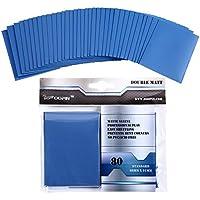 Zoopin ダブルマット保護カードスリーブ ブルー 80枚パック