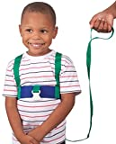 Leachco Ride 'N Stride 2-Way Safety Harness, Green and Blue by Leachco
