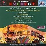 Ginastera, Antill and Villa-Lobos