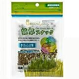 GREEN Labo 猫草スナック マグロとしらす味 40g 猫 おやつ 毛玉ケア 猫草 6袋入り