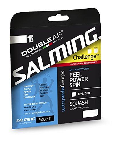 SALMING スカッシュ用1.18mmストリング チャレンジスリック (サルミングブルー)