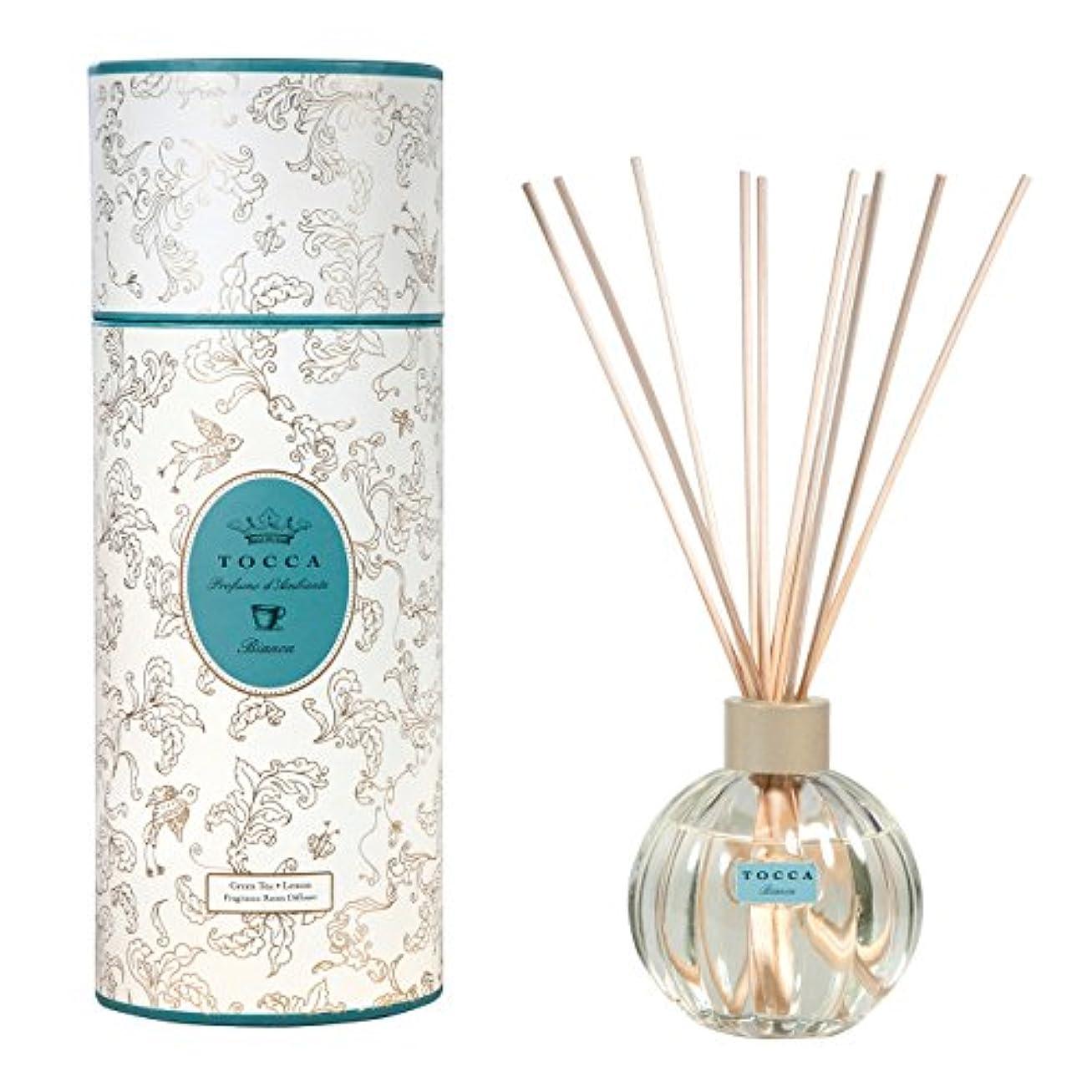 慢性的ビジタースリップトッカ(TOCCA) リードディフューザー ビアンカの香り 175ml 3~4ヶ月持続(芳香剤 ルームフレグランス シトラスとグリーンティー、ローズが絶妙に溶け合ったほのかに甘さ漂うフレッシュな香り)