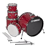 Yamaha Rydeen 5pc Shell Pack with 22 Bass Drum Hot Red 【TEA】 [並行輸入品]