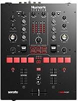 Numark 2チャンネルスクラッチミキサー Serato DJ Pro/DVSライセンス付属 Innofaderクロスフェーダー搭載、6つのダイレクトアクセスエフェクト パフォーマンスパッド装備 24ビットのサウンドクオリティ Scratch