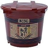 二反田醤油 田舎づくり味噌米こうじ 4kg 朱樽入り