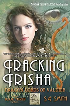 Tracking Trisha: Science Fiction Romance (Dragon Lords of Valdier Book 3) by [Smith, S.E.]