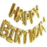 誕生日 飾り付け 風船、Happy Birthday バルーン、パーティー 装飾 風船、バースデ...